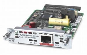 Cisco ISDN 1B-U Module