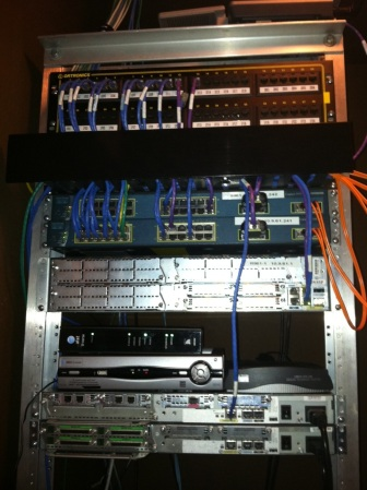Home Network Rack