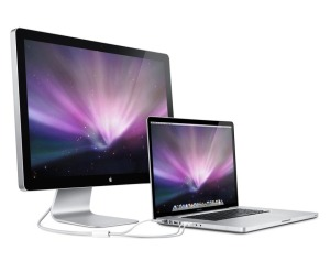 MacBook Pro with Cinema Display