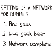 Setting-up-a-network-for-dummies